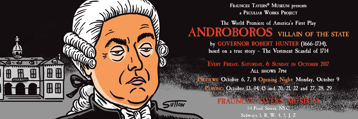 Androboros: a Biograhical Farce in three acts cover page